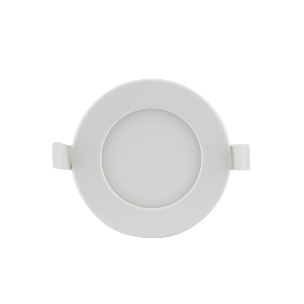 LED vestavný mini panel 3v1 9W IP44 kruh bílý 650 lm 2800-4500-6000K