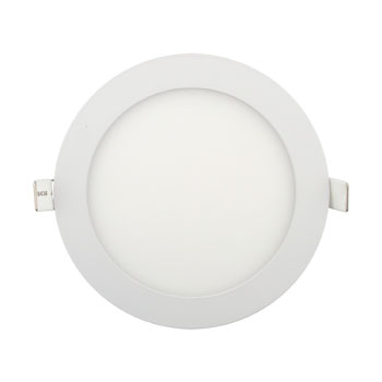 LED vestavný mini panel 12W kruh bílý 780 lm 3000K