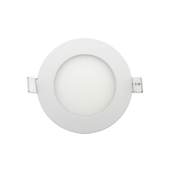 LED vestavný mini panel 6W kruh bílý 390 lm 4000K